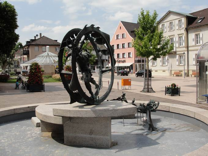 Narrenbrunnen Bühl