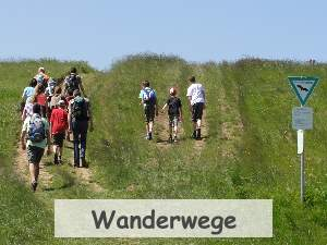 Wanderwege Region